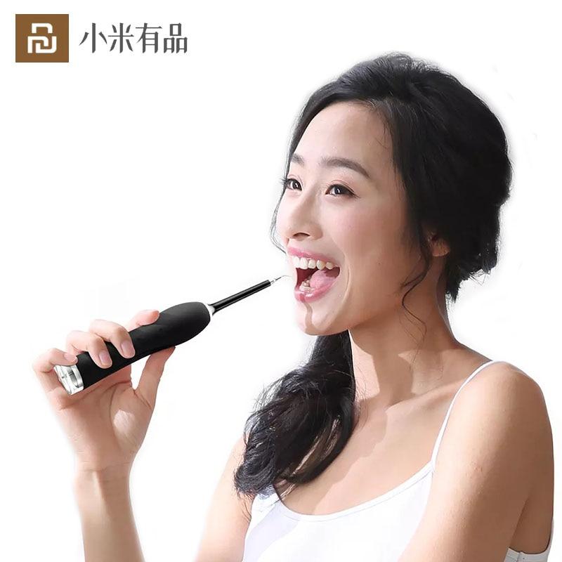 youpin ymym eletrica ultra sonico dente scaler dental sonic vibracao limpador de dentes vibracao acustica dental