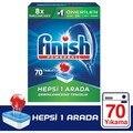 Finish Alle In Einem 70 Tablet Spülmaschine Waschmittel