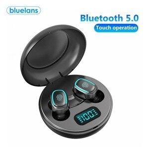 A10 наушники-вкладыши TWS Bluetooth 5,0 Беспроводной Hi-Fi наушники-вкладыши с цифровым зарядным устройством мини True Беспроводной спортивные наушники...