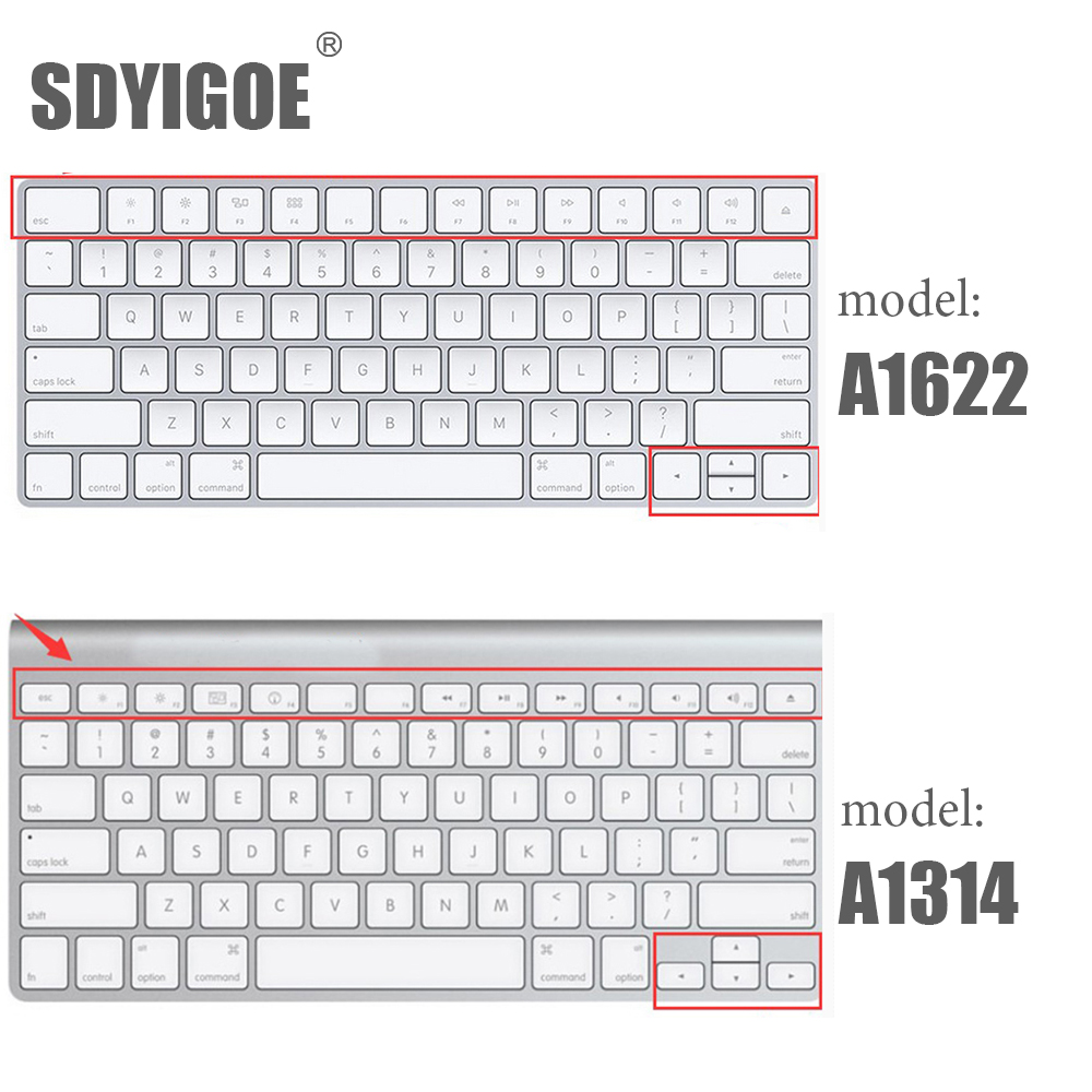Silicone Cover Skin protector for Apple Wireless IMAC Bluetooth Keyboard