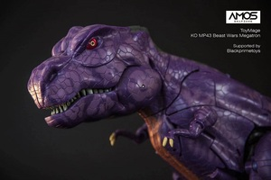 Image 5 - ToysMage Robot de Transformation TM01, Version KO MP 43 MP43, tyrannosaure, les bêtes, les dinosaures, guerriers, figurines, jouets, modèles