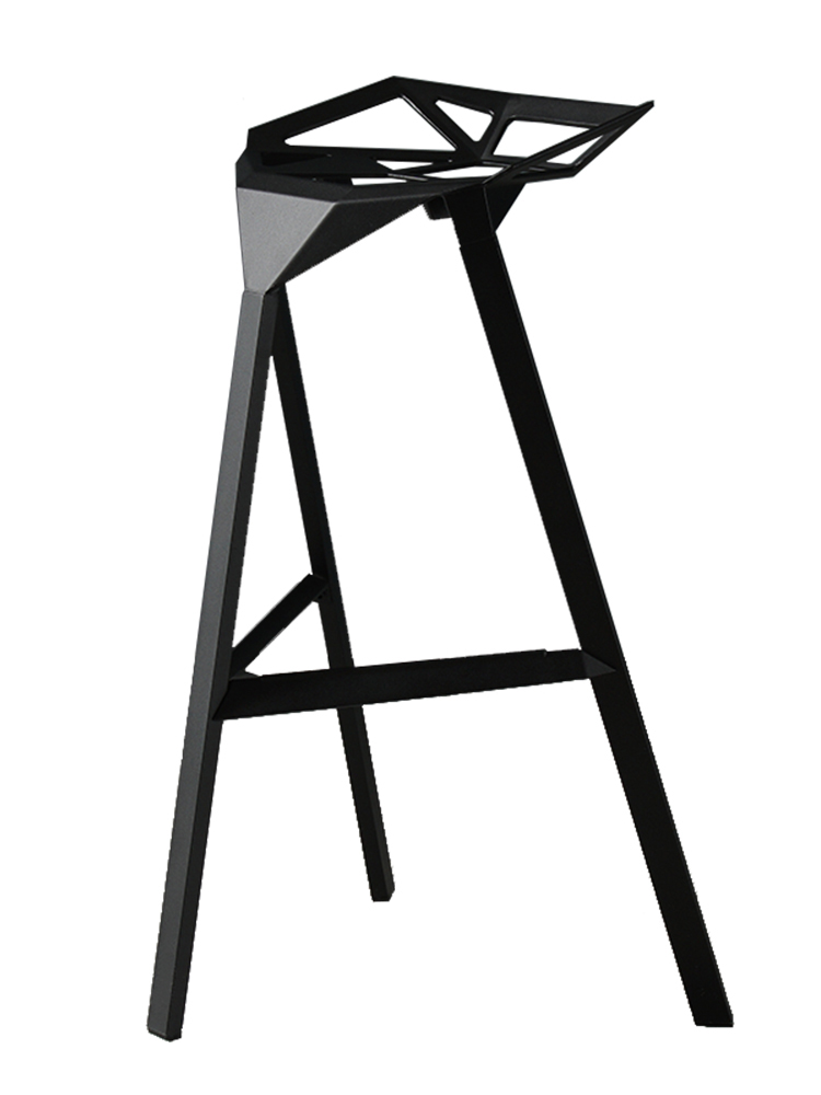 H1 Industrial Wind, Wrought Iron Bar Chair Stool Chair Stool Checkout Bar Ktv Creative Kong Bar Stools For Home  Stool Bar