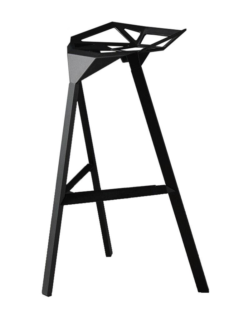 H1 Industrial Wind, Wrought Iron Bar Chair Stool Chair Stool Checkout Bar Ktv Creative Kong Bar Stools For Home  Stool Bar