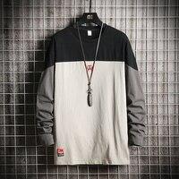 95% хлопок летняя Лоскутная футболка для мужчин Половина рукава черный серый RedM-3XL