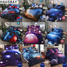 Bedding Sets Universe Outer Space Themed Bed Linen 3D Galaxy Duvet Cover Flat Sheet 2pcs 3pcs