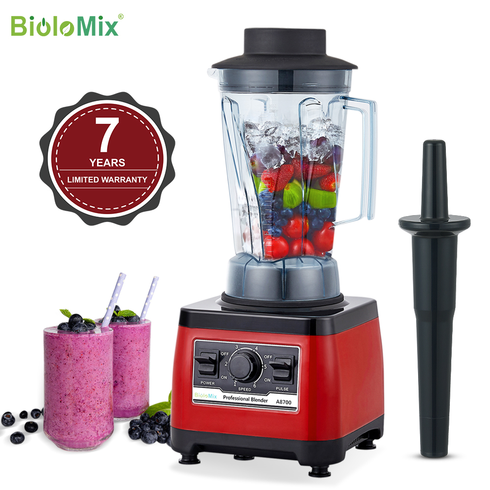 【7 Years Warranty】BPA Free Heavy Duty Commercial Grade Blender Professional Mixer Juicer Ice Smoothies Peak 2200W|professional blender|blender mixerblender mixer juicer - AliExpress