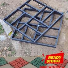 Mold Concrete-Molds-Tool Brick-Stone Road-Paving-Mold Path-Maker Cement Plastic DIY