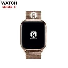 Bluetooth חכם שעון 4 42mm SmartWatch מקרה עבור אפל שעון iOS iPhone 8 בתוספת XS Xiaomi אנדרואיד חכם טלפון לא אפל שעון