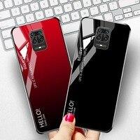 Temperli cam Xiaomi Poco X3 Pro X3 NFC M3 Pro F3 kılıfları Funda Xiaomi Redmi not 9 10 8 Pro 10s 9C 9S 8T Note9 kapakları