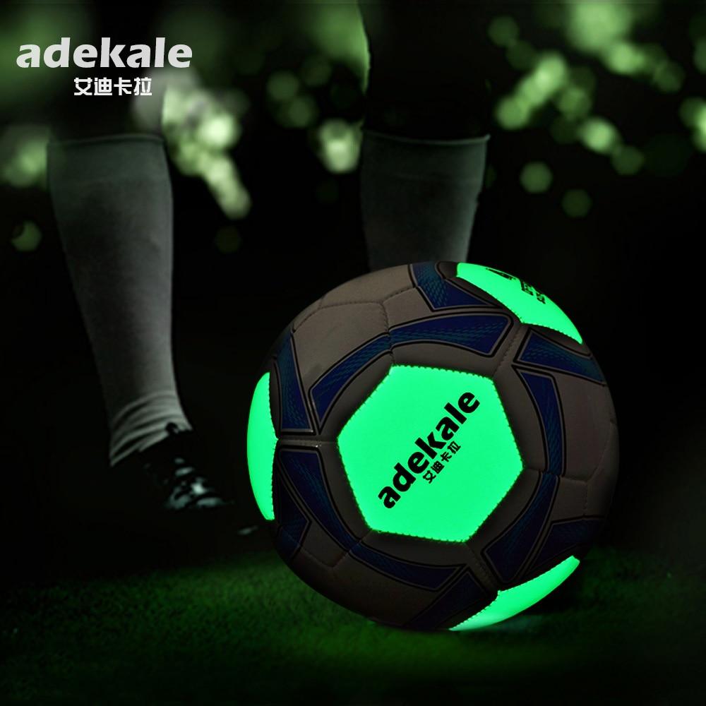 Adult No. 5 Child No. 4 Fluorescent Football Standard Match Training Glowing Soccer Ball
