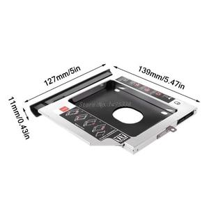 Image 5 - New 2nd SSD HHD Hard Drive Caddy Tray Bracket for Lenovo Ideapad 320 320C 520 330 330 14/15/17 Dropship