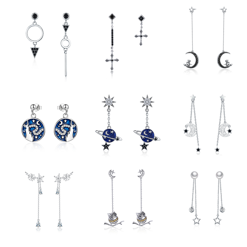 Stud Earrings for Women,Starfish Earring Studs Girls Gold or Silver Dangle Earring Stainless Steel Earring