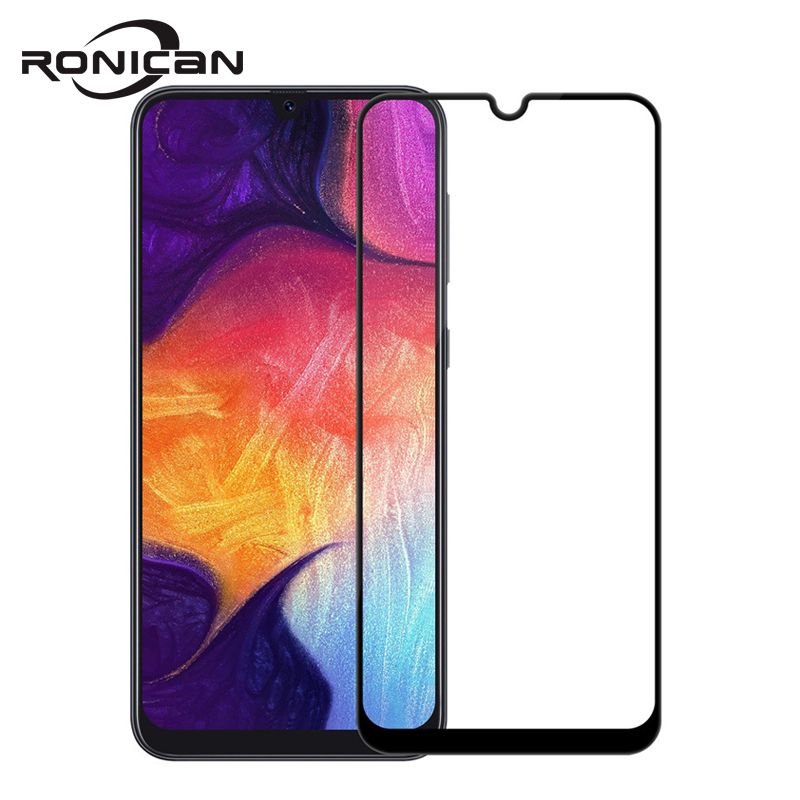 Закаленное стекло 9H с полным покрытием для Samsung Galaxy A50 A30 A40, Защитное стекло для Samsung Galaxy A70, 30, 40, защитная пленка