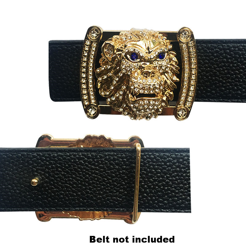 Cool Animal Icon Belt Buckles Suitable For 4 Cm Width Belts Trending Accessories Western Cowboy Dress  Championship Belt