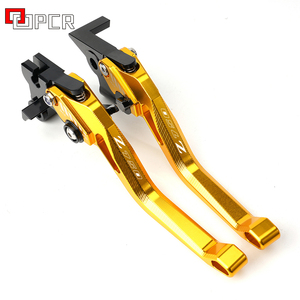 Image 2 - For Kawasaki Z750 Z 750 2007 2012 2008 2009 2010 2011 Motorcycle CNC Accessories Adjustable Brake Clutch Levers Green
