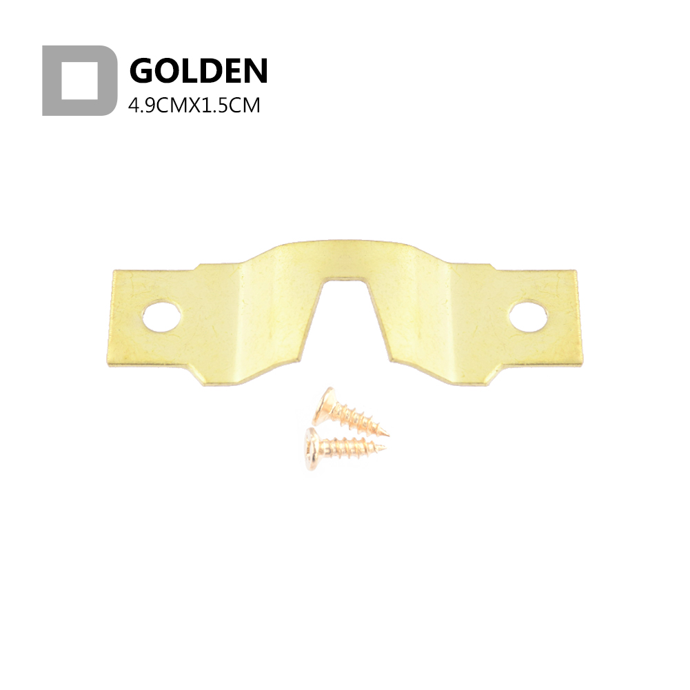 25Pcs Saw Tooth Hangers Golden Hanging Mirror Saw Tooth Tooth Hooks with Screws Canvas Picture Wall Oil Painting Frame Strong 6