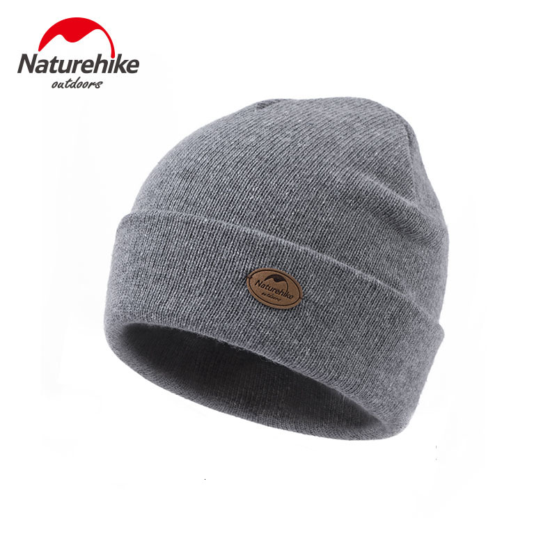 Naturehike-gorro de lana cálido para exteriores, alta calidad, para invierno, senderismo, lana, unisex, resistente al viento, 2019