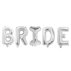 Image 4 - 5pcs 30inch Silver Rose Gold Mr Mrs Bride To Be Letter Aluminium Foil Balloons Wedding Valentines Day Engaged Party Decoration