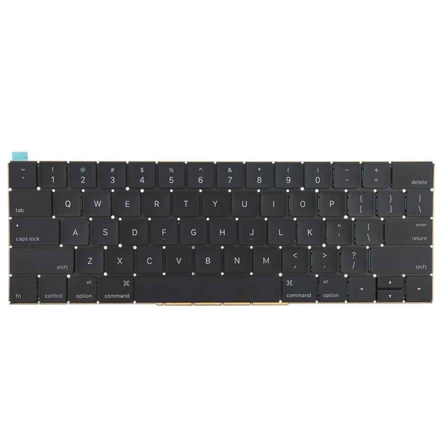 استبدال لوحة المفاتيح لا الخلفية ل ماك بوك برو الشبكية 13 بوصة A1706 15 بوصة A1707 2016 2017 اللوحي لوحة المفاتيح
