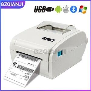 "Image 1 - 4 אינץ תרמית תווית מדפסת עם מהירות גבוהה 160 מ""מ\שנייה USB Bluetooth עבור הדפסת מדבקה/תווית מדפסת"