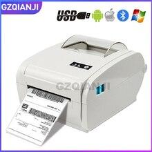 4 นิ้วป้ายความร้อนเครื่องพิมพ์ความเร็วสูง 160 มิลลิเมตร/วินาทีUSB Bluetoothสำหรับพิมพ์สติกเกอร์/ฉลากเครื่องพิมพ์