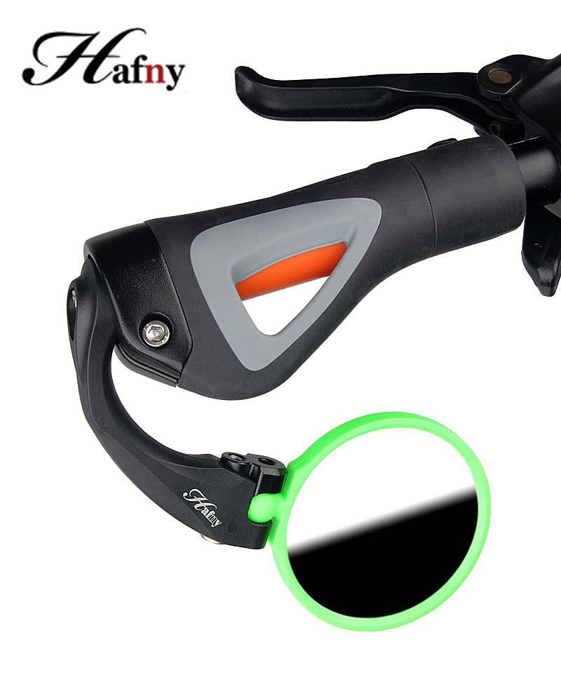 Bike Mirrors Hafny Flexible Clear Rear View Bicycle Mirror Handlebar End Back Eye Safety For MTB Road