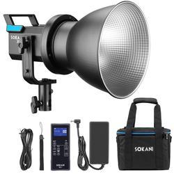 Sokani X60 LED Video Light Light 80W 5600K Studio Daylight Outdoor Photographic Lighting for Video Studio, led lights