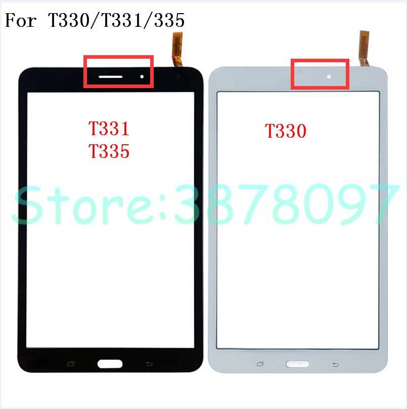 """Black Samsung Galaxy Tab 4 8.0/"""" SM-T337 Touch Screen Digitizer"""