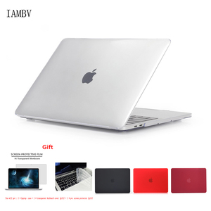 New Crystal\Matte Case For APPle MacBook Air Pro Retina 11 12 13 15 16 inch ,Case for A1706 A2159 A2179 Pro13 A2251 A2289+gift