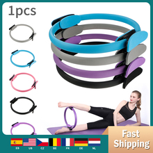 Professional Yoga Circle Ring Kit  Magic Ring Women Fitness  Resistance Circle Gym Workout Pilate Accessorie multicolor yoga circle fiberglass fiberglass crescent handle magic circle fitness body fitness equipment health massage