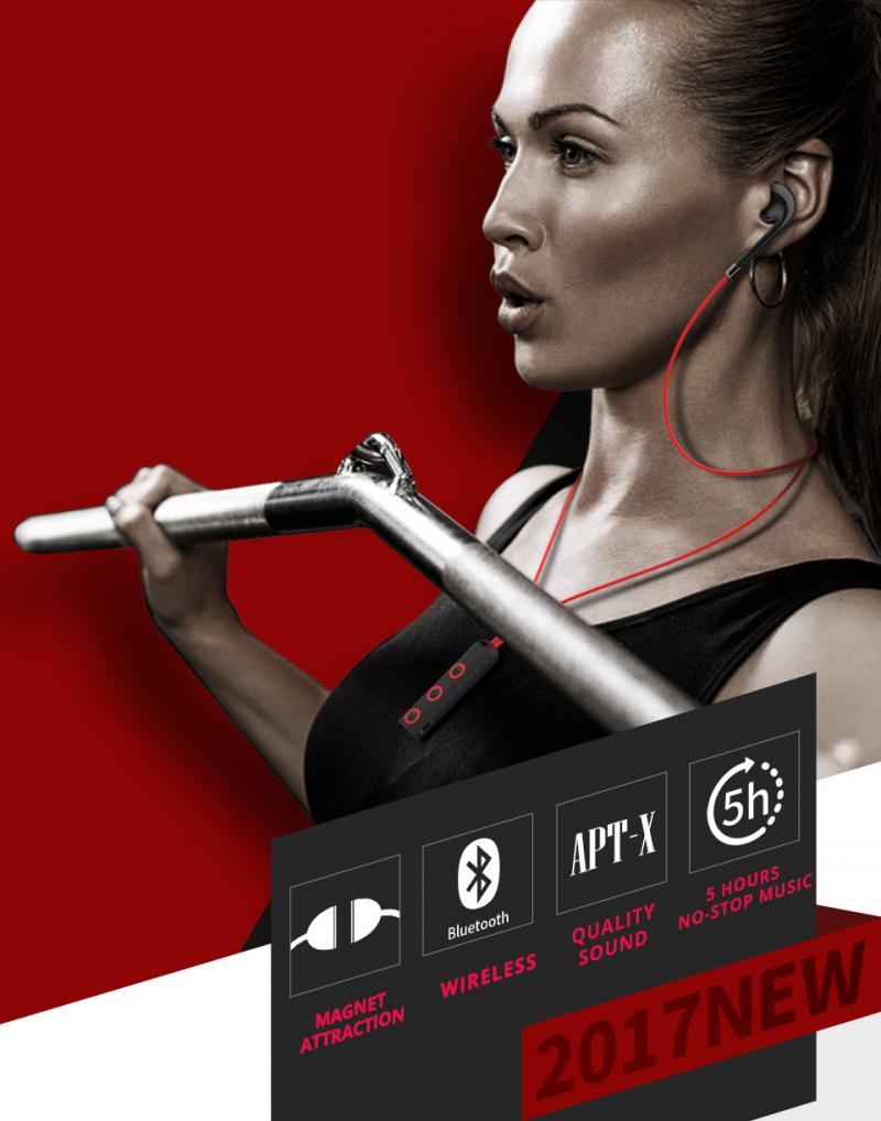 BT313 Bluetooth Earphones Sport Wireless Headphone Handsfree Bluetooth Earbuds Bass Headsets With Mic For Phone Xiaomi Iphone