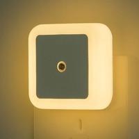 LED Nachtlicht Mini Licht Sensor Control 110V 220V UK EU UNS Stecker Nachtlicht Lampe Für Kinder Kinder wohnzimmer Schlafzimmer Beleuchtung