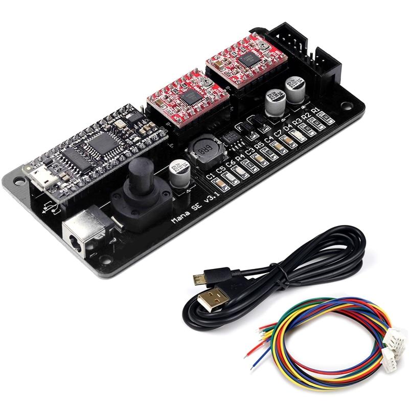 Eleksmana Se Xy 2 Axis Stepper Motor Driver Controller Board Control Panel For Diy Engraver