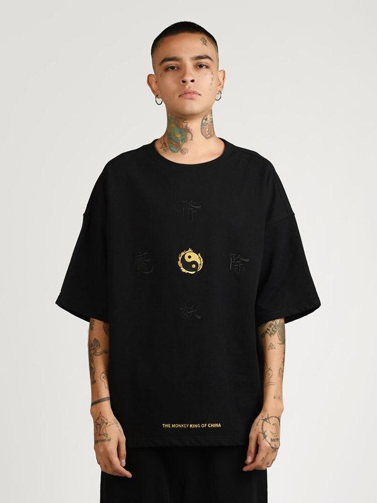 100% di Estate del cotone maschio manica Corta T shirt Tee di Skateboard Ragazzo Skate Tshirt Magliette e camicette Uomini Roccia Hip hop Street wear maglietta di modo - 3