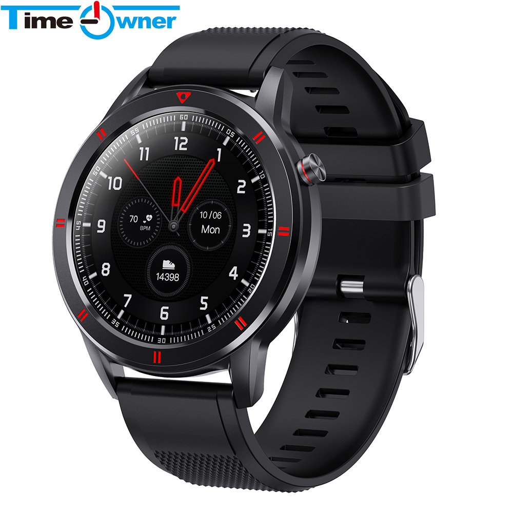 Youth 1 Smart Watch Full Round Touch Screen Fashion Fitness Tracker Waterproof Sleep Heart Rate Monitor for Huawei Android IOS