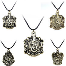 Hogwarts School Accessories Necklace Gryffindor Ravenclaw Slytherin Hufflepuff Prop Cosplay Collection Gift(China)
