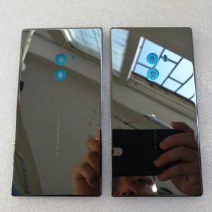 Image 2 - 100% Orijinal Axisinternational Xiao mi mi mi x/mi mi x Pro 18K sürümü Cera mi c ön mi ddle ddle Çerçeve çerçeve + Arka Pil Kapağı durumda