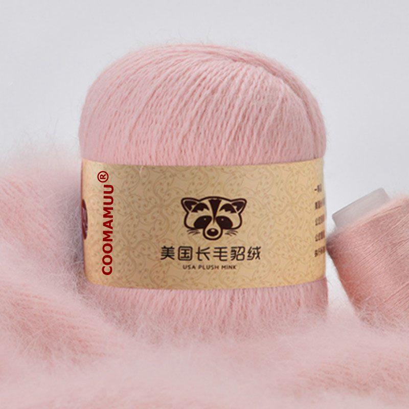 50 + 20 г/комплект, высокое качество, длинная плюшевая норковая кашемировая пряжа для ручного вязания, свитер, шапка, шарф, не скатывается, плетеная нить|cashmere yarn|yarn for hand knittingmink cashmere yarn | АлиЭкспресс