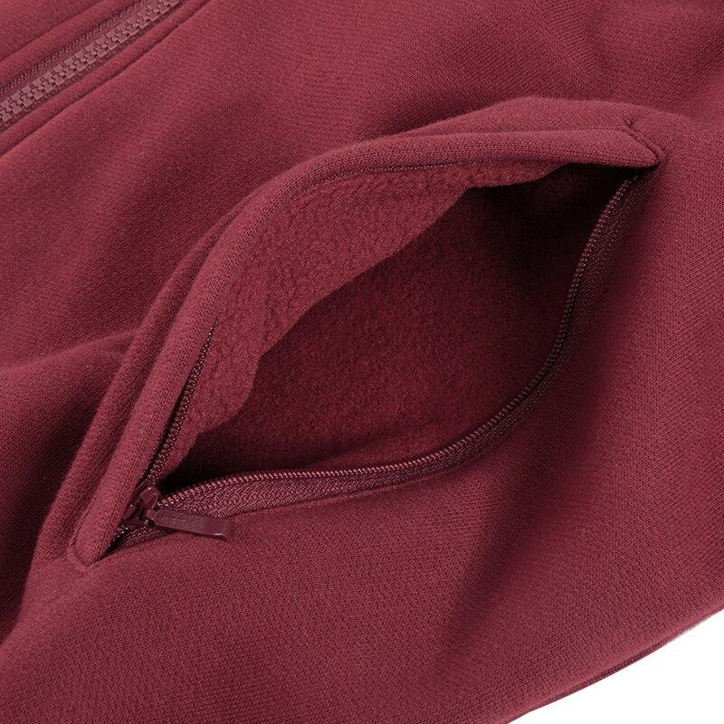 Men's Cotton Fleece Casual Zip Up Hooded Sweatshirts
