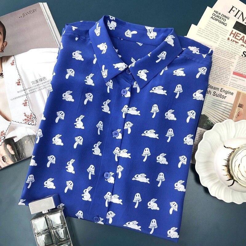 Vrouwen Shirt Gedrukt Lange Mouwen Shirt - 3