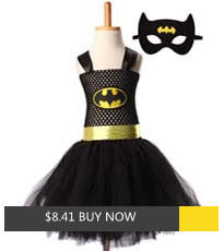 Superman Batman Girls Tutu Dress with Mask Super Hero Inspired Baby Costume Kids Cosplay Christmas Halloween Tutu Dress_副本