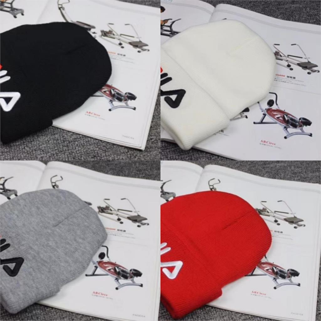 Knitted Hat Beanie-Hat Embroidery Skate Skull Warm Winter Outdoor Cotton Letter Adult