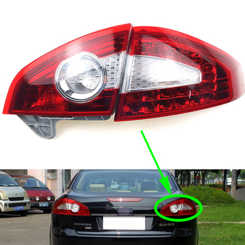 Rear Brake Light for Ford Mondeo 2007 2008 2009 2010 Tail Lamp Car Turning Signal Stop Lamp Warning Bumper Taillight Taillamp
