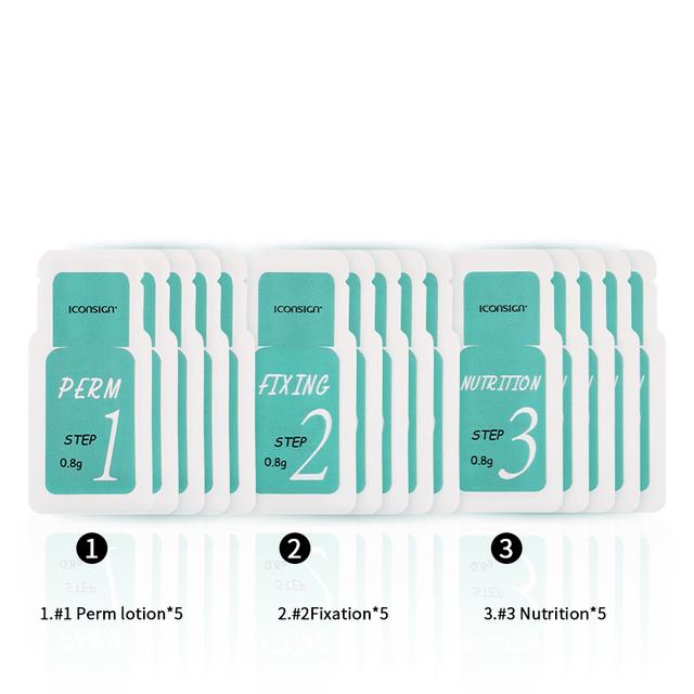 New Version Iconsign lash lift kit Sachet Perming Set eyelash growth lashes perm kit