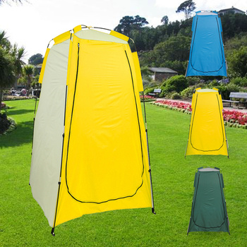 Portable Privacy Shower Toilet Bath Waterproof Changing Fitting Room Camping Tent Shelter for Outdoor Beach outdoor bathing tent pop up privacy tent instant portable shower tent camp toilet rain shelter for camping and beach
