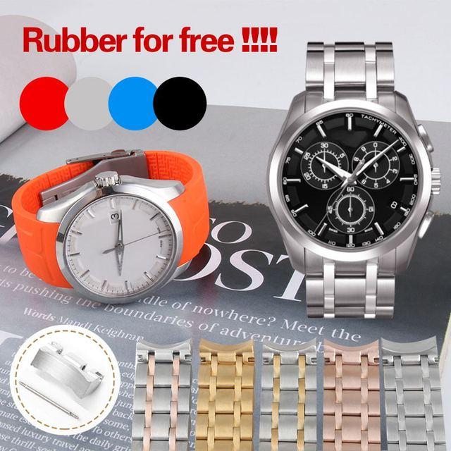Bracelet de montre homme de marque Tissot T035 Couturier, 22mm 23mm 24mm, T035617 T035439A, acier inoxydable Bracelet de montre