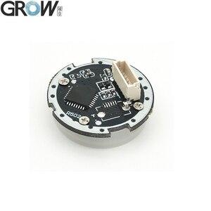 Image 5 - GROW K216 + R502 A mały cienki okrągły pierścień LED pojemnościowy kontrola dostępu za pomocą odcisków palców