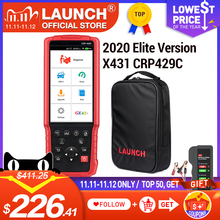LAUNCH X431 CRP429C OBD2 Car Professional diagnostic tool ENG ABS Airbag SRS AT Scanner IMMO TMPS DPF SAS Oil reset PK easydiag