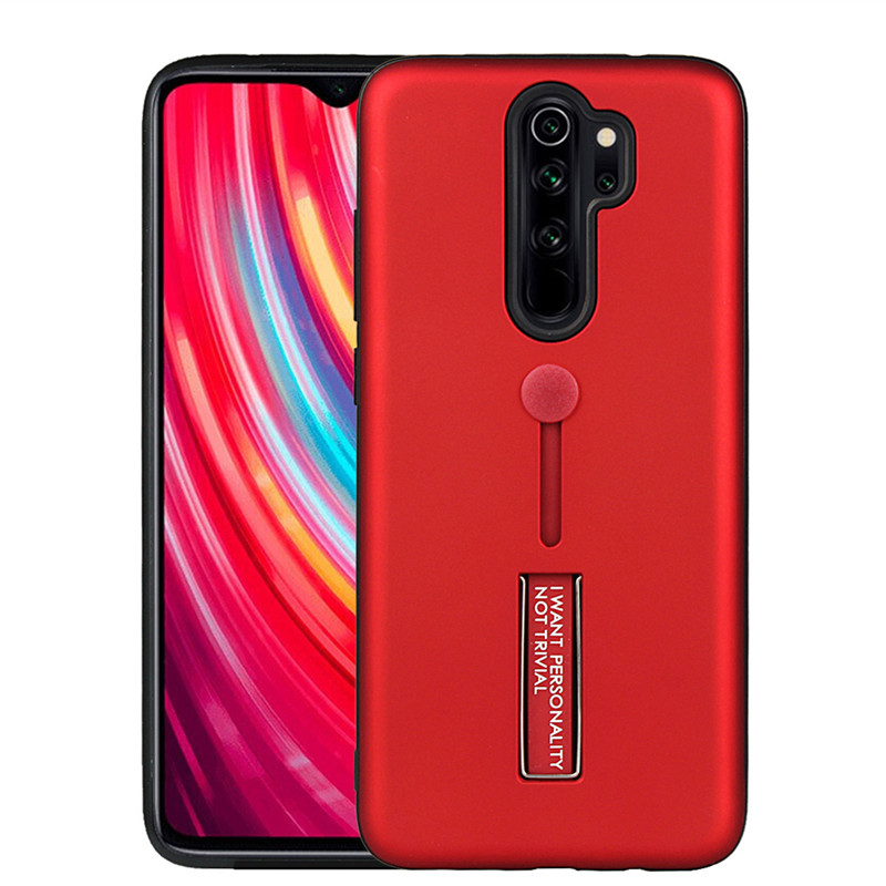 For Xiaomi Redmi Note 8 Pro <font><b>Case</b></font> Shockproof Armor Finger <font><b>Ring</b></font> <font><b>Loop</b></font> Strap Cover Hide Stand <font><b>Phone</b></font> <font><b>Case</b></font> For Redmi Note8 Note 8 Pro image