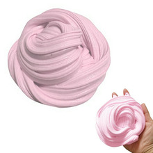 Candy Floss Fluffy Stretchy Slime Clay Mud Safe Washable Stress Relief Adults Kids Toy 60ML AN88